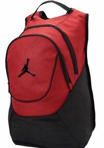 Image is loading NIKE-Air-Jordan-Jumpman-Red-Black-Elephant-Backpack- c0a8e71fc3838