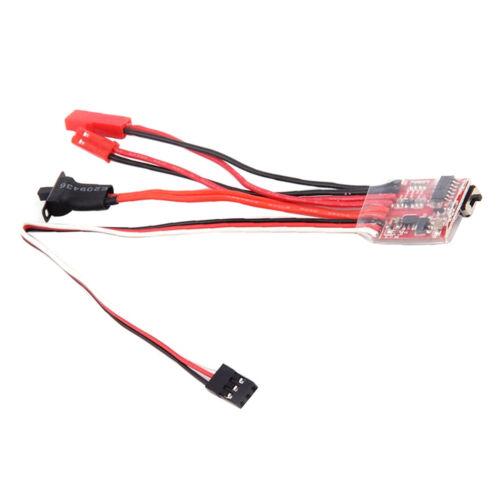 4pcs 20A Brushed Drehzahlregler ESC-Geschwindigkeitsregler für RC Auto Lkw