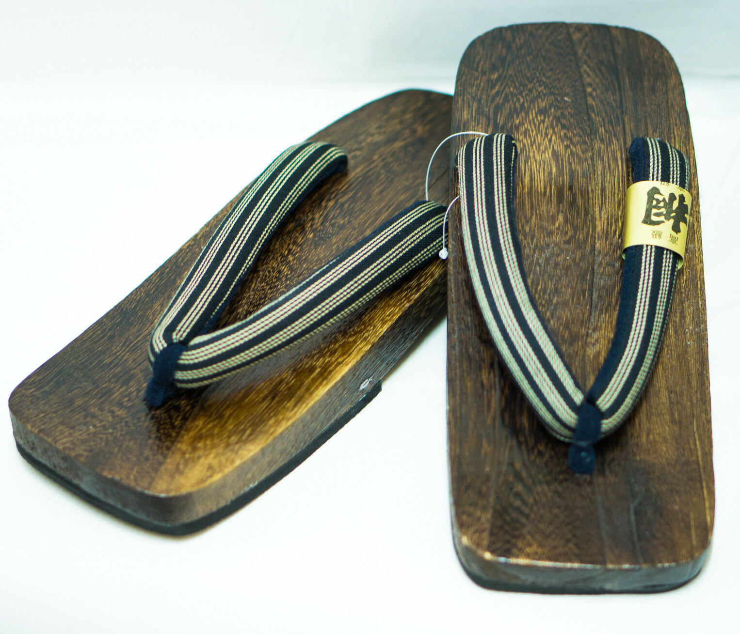 606bf6f40f71  Japan Made  Mens Geta Paulownia Wood Wood Wood Sandals Traditional 28cm