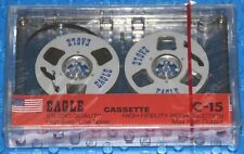 EAGLE C-15 REEL TO REEL  BLANK CASSETTE TAPE (1) (SEALED)
