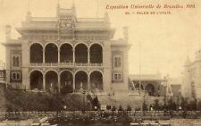 Postkaart - Brussel - Expo 1910 - Italiaans paleis