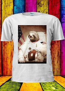 Spaceman Paresse Astronaute Drôle Refroidir T-shirt Gilet Débardeur Hommes Femmes Unisexe 1296-afficher Le Titre D'origine