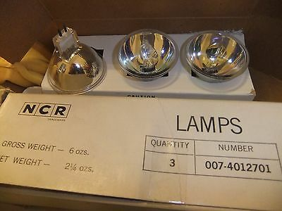Ijverig Projector Bulb Lamp Ncr 007-4012701 3 Pack 17.7v 243 .. 15