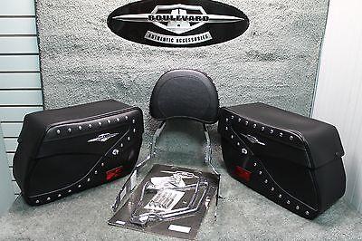 Suzuki OEM Genuine Touring Backrest & Saddlebags w/ Dependencies Boulevard C50