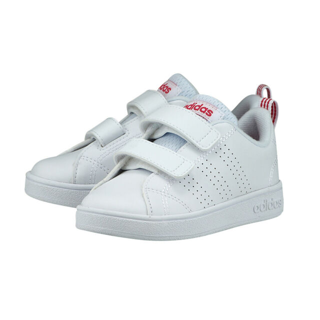 promo code b4b74 7e9c9 Adidas Neo Kids Shoes Infants Sneakers VS Advantage Clean Girls BB9980