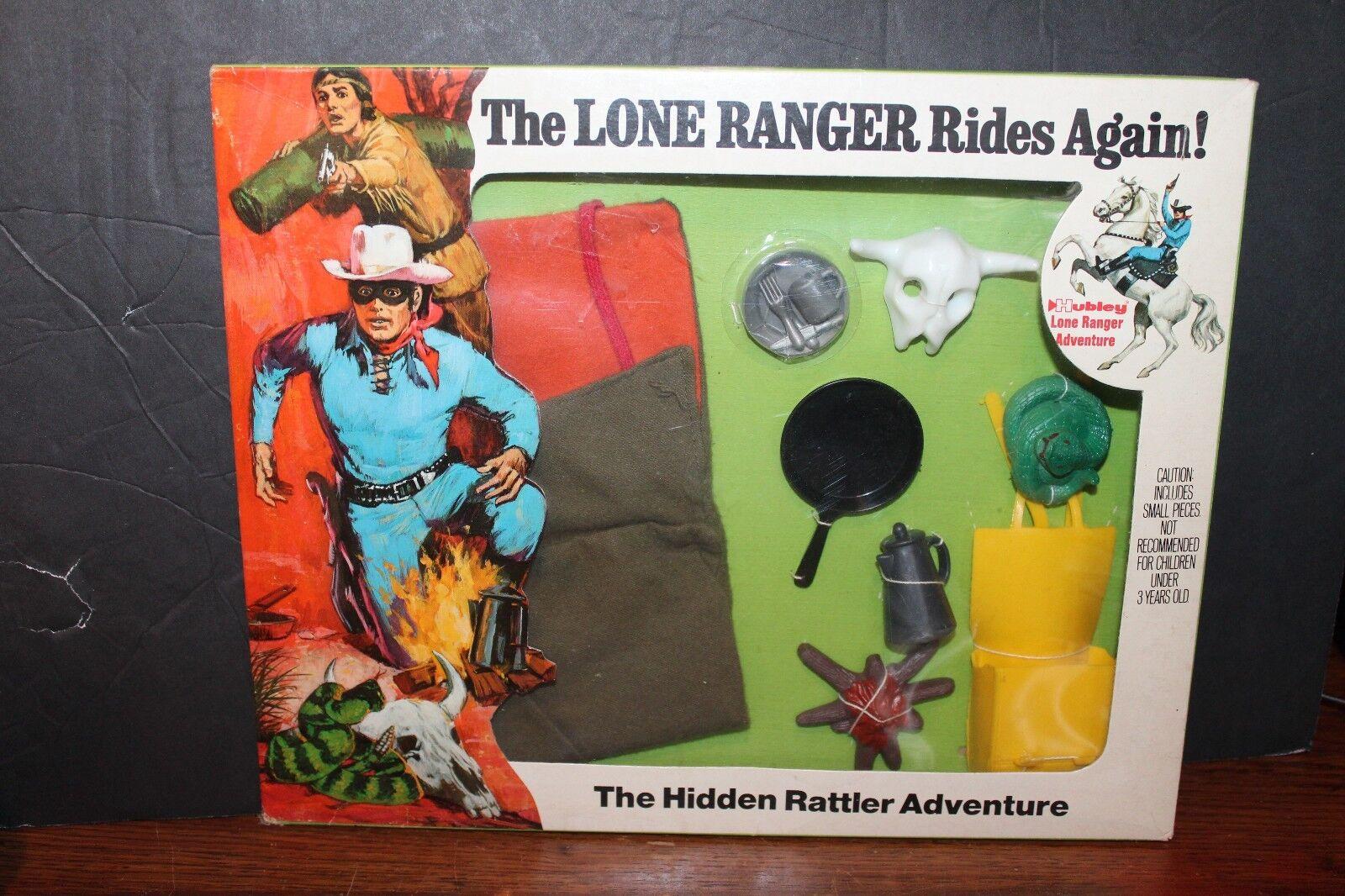 Hubley The Lone Ranger ' Rides una y Otra 'The Hidden Rattler Juego de Aventura