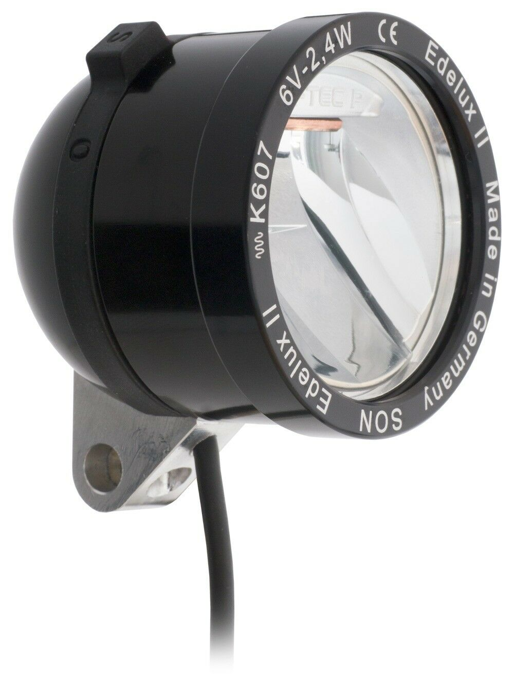 Novedad LED FAROS son edelux II negro con 140 cm de cable puertos suelto