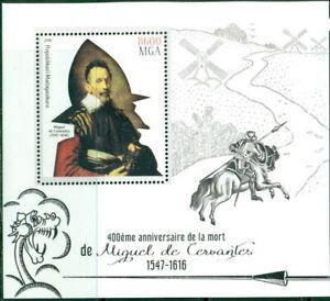 2016 400th Mort Anniv Miguel De Cervantes De Littérature Navires Don Quichotte 400379 Haute RéSilience