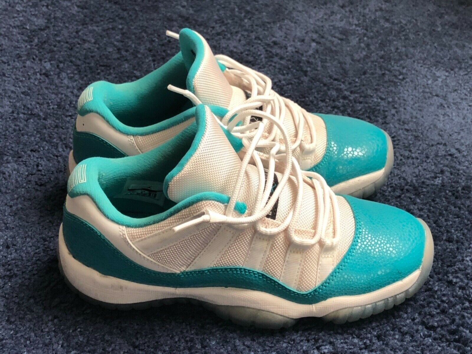 "Air jordan 11 retro low GS ""Aqua safari"""