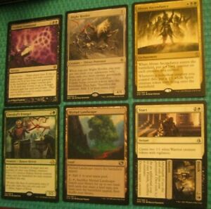 Abzan-White-Black-Green-Sacrifice-Graveyard-EDH-Commander-Lot-2-LP