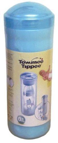 Tommee Tippee 2 in 1 Reise Thermo /& Milch Pulver Spender Hält Wasser Warm Bl
