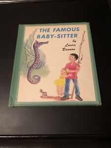 The Famous Baby-Sitter Laura Bannon Vintage Hardback 1960 A Tale of Texas Fiesta