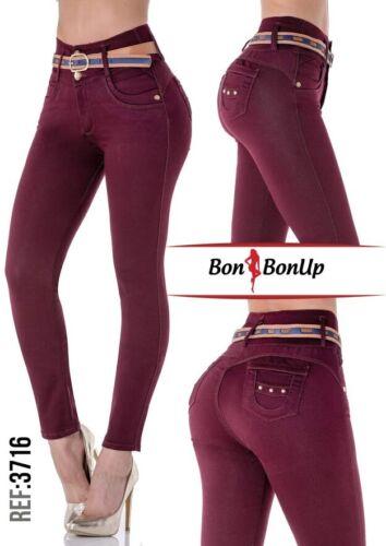3716 Bon Bon Up Jeans Levanta cola jeans colombianos butt lifter levanta pompis