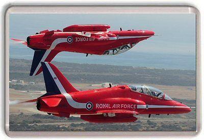 Royal Air Force Red Arrows Hawk RAF fridge magnet