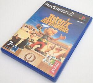 DéVoué Ps2 Boite Et Jaquette Du Jeu Asterix Aux Jeux Olympiques Pal Fr Sony Playstation