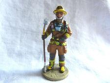 Figurine pompier Delprado -  Fireman Montréal firedress Canada 2003