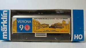 Gueterwagen-Verona-9-Ente-Ferrovie-Dello-Stato-SOMO-Maerklin-OVP-NO