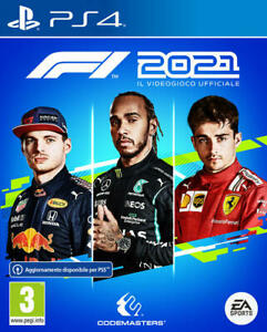 F1 2021 PS4 STANDARD EU NUOVO GIOCO ITALIANO UFFICIALE FORMULA UNO PLAYSTATION 4