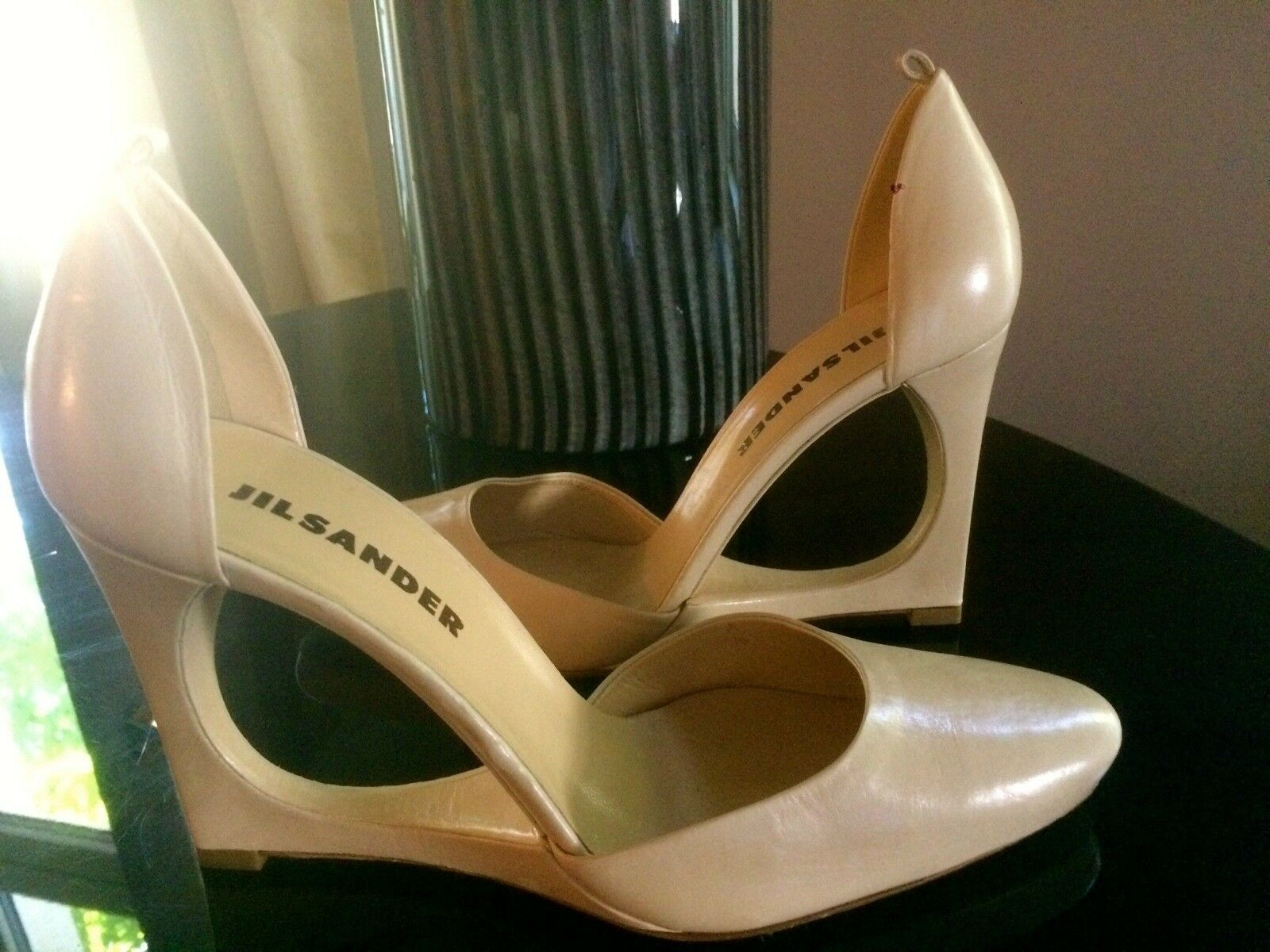 ORIGINAL JIL SANDER PUMPS  HIGH HEELS NP 630  NEU TOP