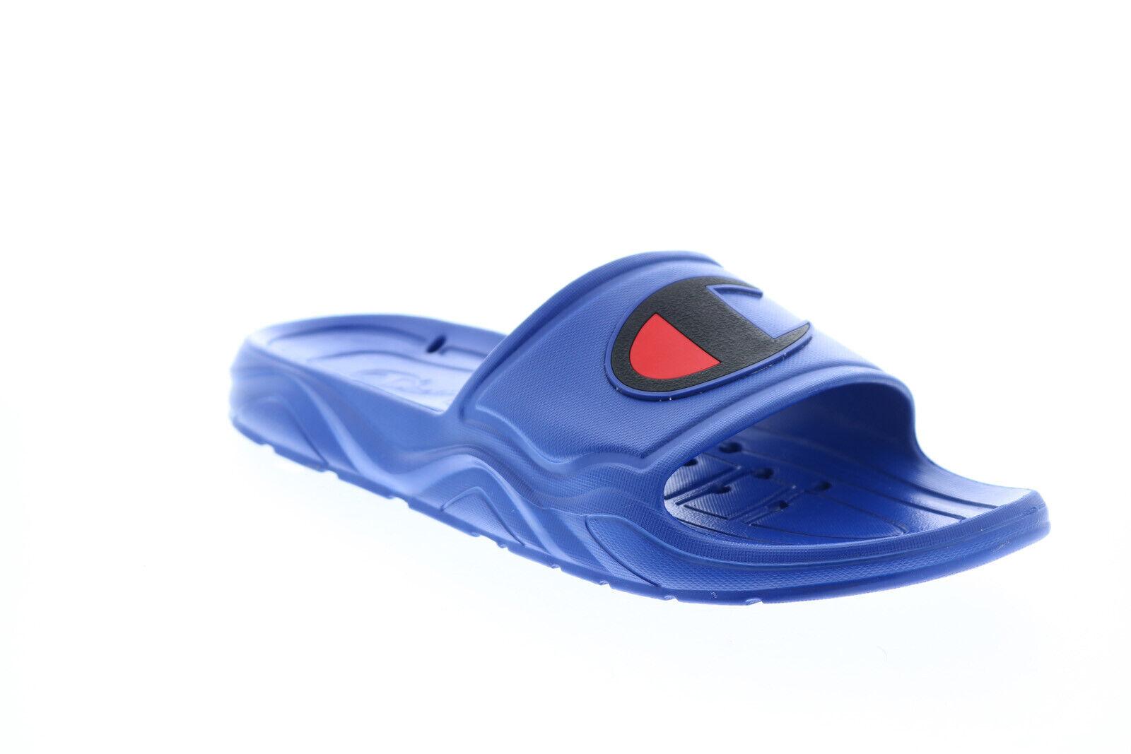 Champion Hydro-C CP101063M Mens Blue Synthetic Sandals Slides Shoes
