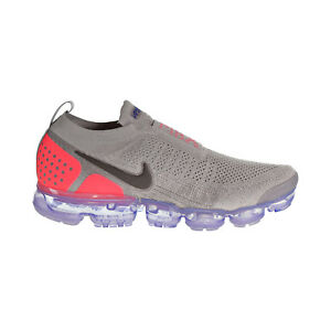 db54ace629f2c Nike Air Vapormax Flyknit MOC 2 Men s Shoes Moon Particle Solar Red ...