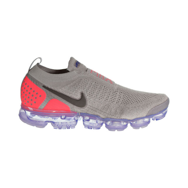 cce5974a5767 Nike Air Vapormax Flyknit MOC 2 Men s Shoes Moon Particle Solar Red AH7006- 201