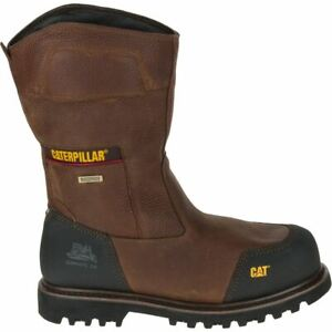 Dettagli su Mens Caterpillar Boots Configure Pull On Waterproof Composite Toe P90744