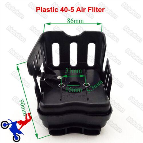GAS Scooter Filtre à air pour 33cc 43cc 49cc X1 X2 X7 Pocket Bike Bladez Minimoto