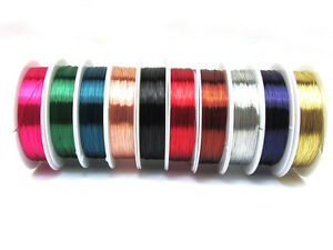 18M-1ROLL-Special-copper-wire-Craft-Wire-Beaded-Cord-Wrap-Jewelry-Making