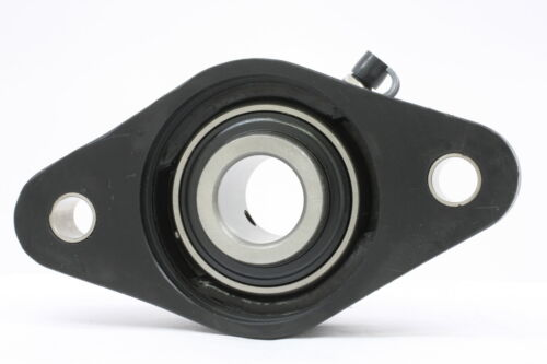 """UCNFL202-10 5//8/"""" Inch Bearing Thermoplastic Flanged Cast Housing 2 Bolt 17739"""