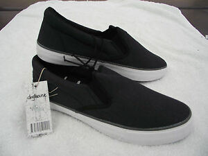 low priced 5d76d bcb9e Details about BNWT Teenage Boys Mens Size 8 Rivers Dark Grey Slip On Loafer  Style Casual Shoes
