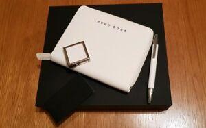 Hugo Boss White Pen Writing Set Rrp £165 By13h2fi-07225710-853836975