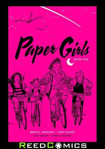 PAPER GIRLS VOLUME 1 DELUXE EDITION HARDCOVER New Hardback Collects Issues #1-10