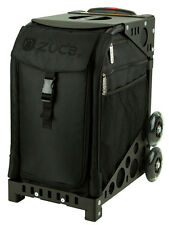 ZUCA Bag STEALTH Insert & Black Frame w/Flashing Wheels - FREE SEAT CUSHION