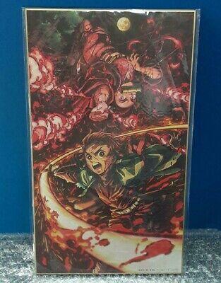 Demon Slayer Kimetsu No Yaiba Tanjiro Kamado Nezuko Shikishi Art Board picture