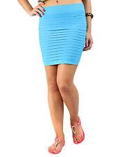 N-Gal: Women Fashion Short Skirts, Girls Mini Skirt, NG71029-Ocean Blue