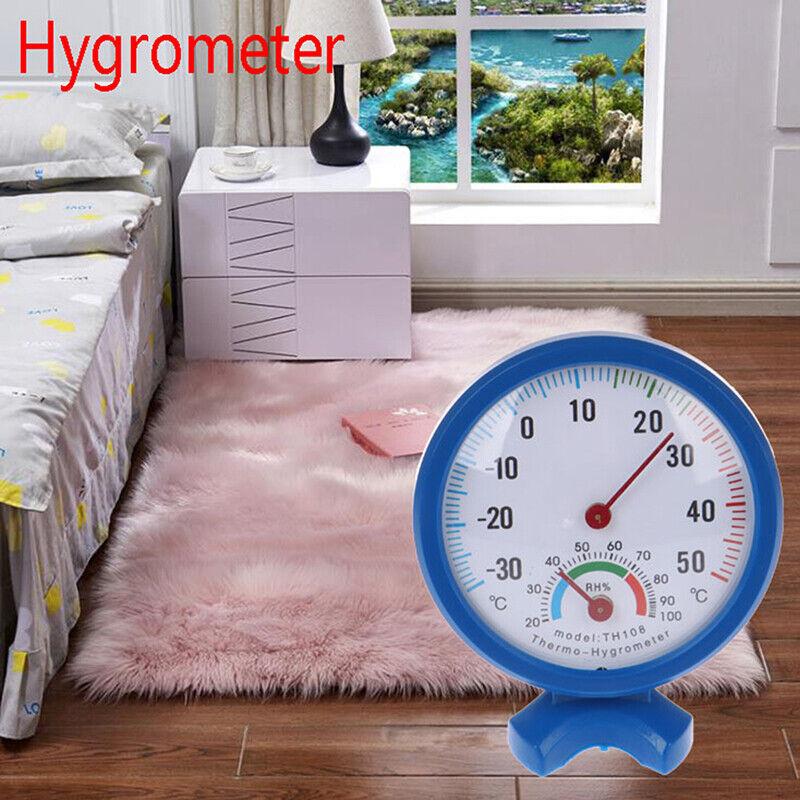 Analog Thermometer Hygrometer Temperature Humidity Monitor Meter Gauge Hous.ji