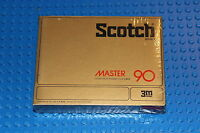 Scotch Master 90 C Box Blank Cassette Tape (1) (sealed)
