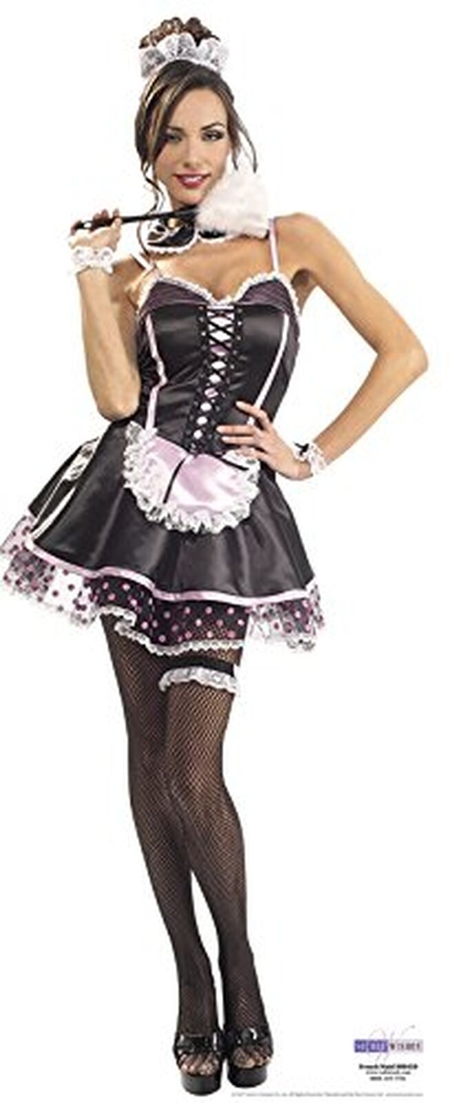 STAR CUTOUTS Cut Out of French Maid