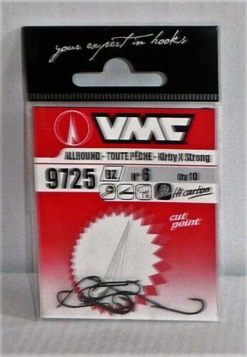 Hameçon VMC Réf 9725 BZ N°6 par 10