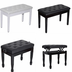 Tremendous Details About Classic Digital Keyboard Piano Bench Padded Seat Stool Solid Wooden Gmtry Best Dining Table And Chair Ideas Images Gmtryco