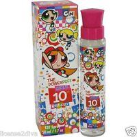 The Powerpuff Girls Cartoon Network Girls 10th Birthday Perfume 1.7 0z