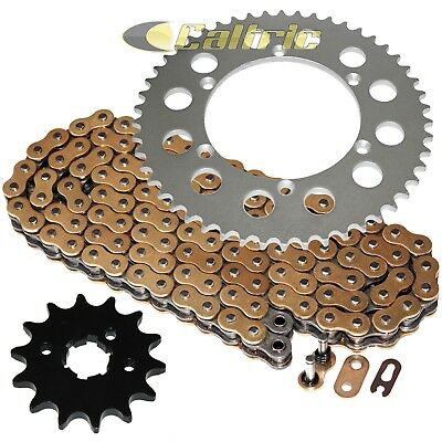 Gold for 2009-2014 Yamaha YZF R1 Volar O-Ring Chain and Sprocket Kit