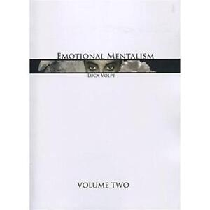 Emotional Mentalism Vol 2 by Luca Volpe and Titanas Magic - Book - Magic Tricks