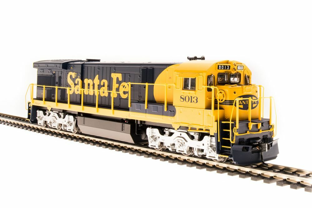 Broadway Limited 4400 Gemini exclusivo C30-7, Atsf 8013, Amarillo Bonnet, Paragon 3 SonidoDcdcc