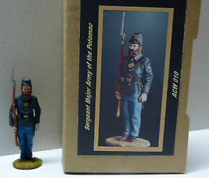 1/30 Army Of The Potomac Kronprinz Toy Soldiers Union Sergeant Major Acw010