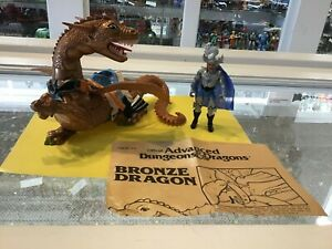 VINTAGE-LJN-DUNGEONS-AND-DRAGONS-BRONZE-DRAGON-STRONGHEART-INSTRUCTIONS