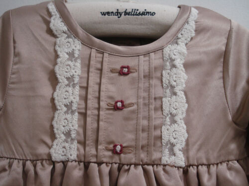 Wendy Bellissimo Party Dress 2-Pc Set 24 Months Cocoa Portraits Special Occasion