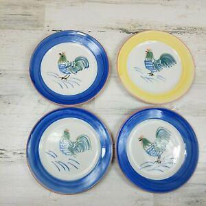 4-TableTops-Unlimited-Rooster-Glory-Salad-Dessert-Plates