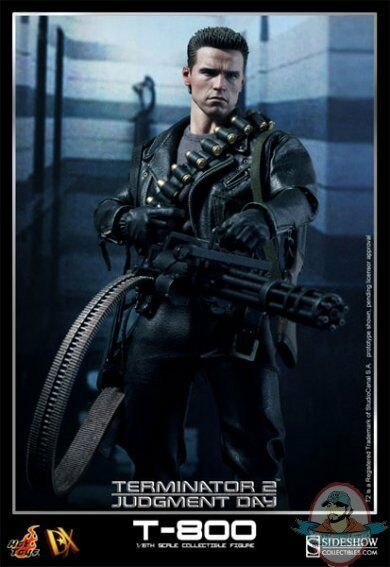 T-800 DX Terminator 2 Judgement Day Sixth Scale Figure by Hot Toys Arnold